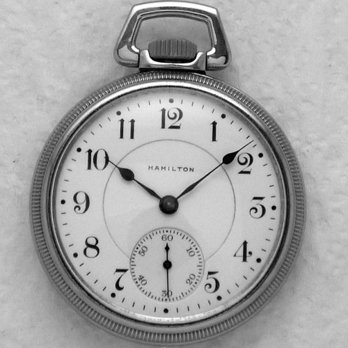 Hamilton Grade 974 Special Pocket Watch Image