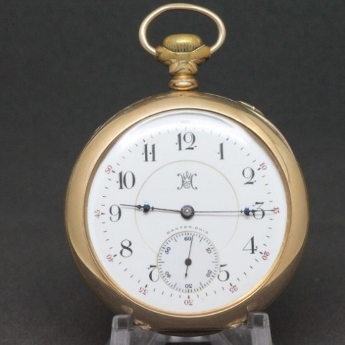 Hampden Grade John Hancock Pocket Watch Image