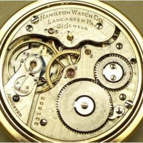Hamilton Grade 971 Pocket Watch Image