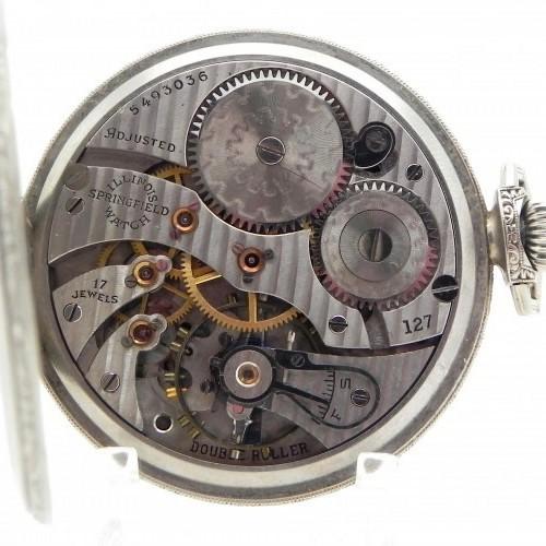 Illinois Grade 127 Pocket Watch Image