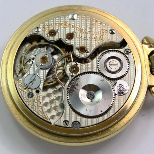 South Bend Grade 298 Pocket Watch Image