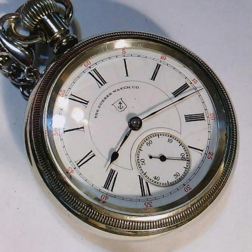 Hampden Grade The Dueber Watch Co. Pocket Watch Image