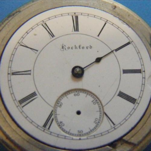 Rockford Grade 43 Pocket Watch Image