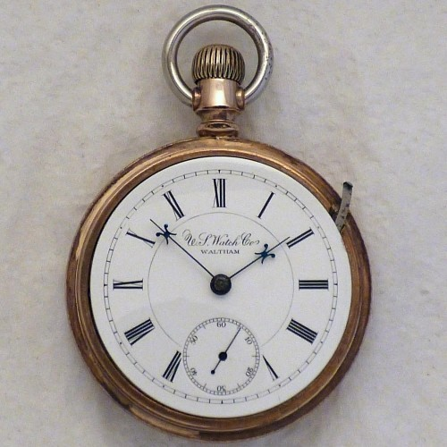 U.S. Watch Co. (Waltham, Mass) Grade 98 Pocket Watch Image