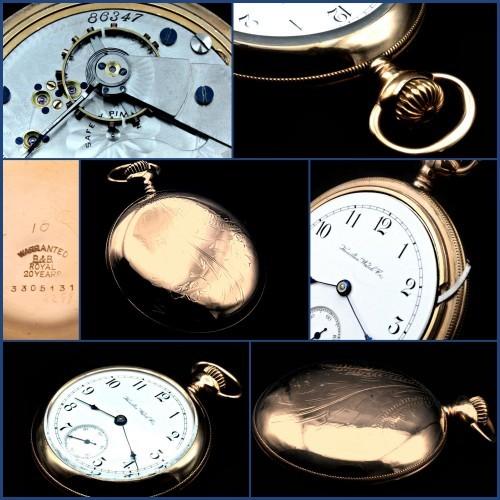 Hamilton Grade 928 Pocket Watch Image