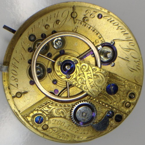 Other Grade Joseph Johnson Pocket Watch Image