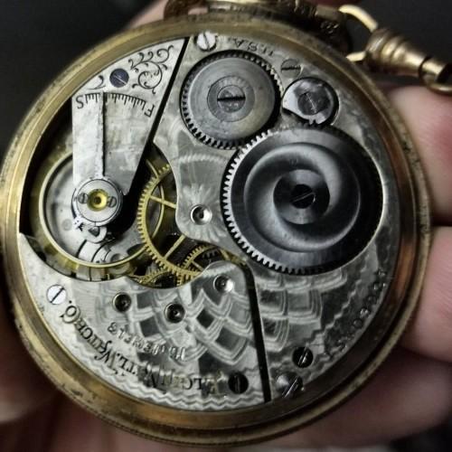 Elgin Grade 291 Pocket Watch Image