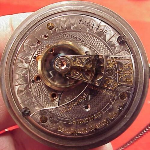 Waltham Grade A.T. & Co. Pocket Watch Image