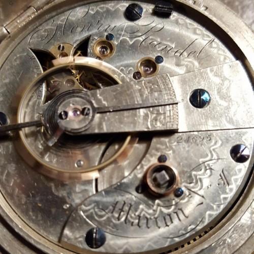 U.S. Watch Co. (Marion, NJ) Grade Henry Randel Pocket Watch Image