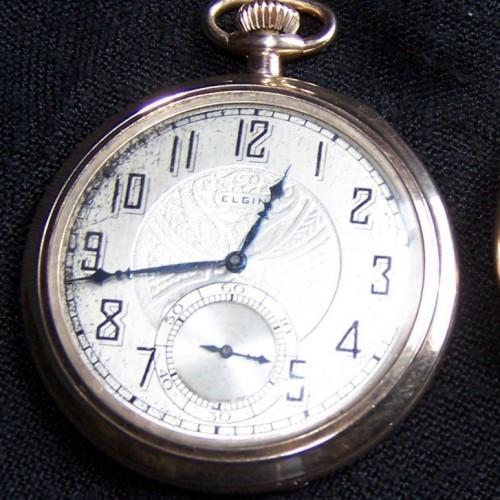 Elgin Grade 345 Pocket Watch