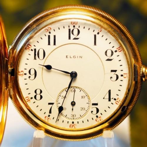 Elgin Grade 402 Pocket Watch Image