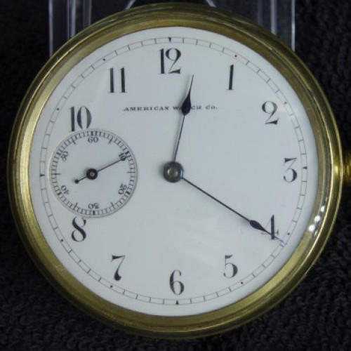 Waltham Grade Riverside Chronograph Pocket Watch Image