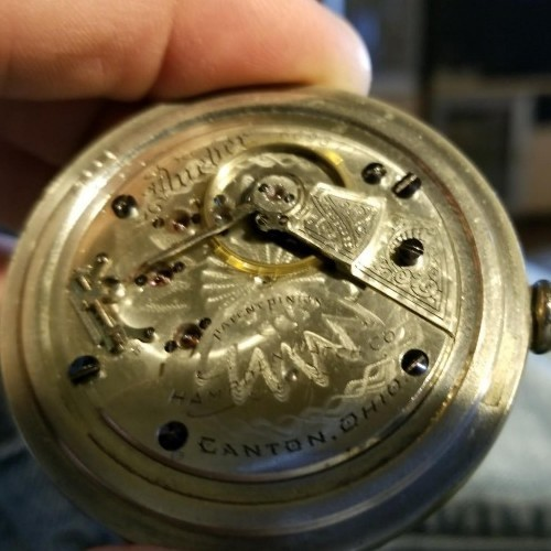 Hampden Grade Dueber Pocket Watch Image