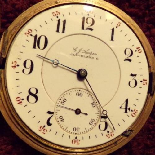 Illinois Grade 174 Pocket Watch Image