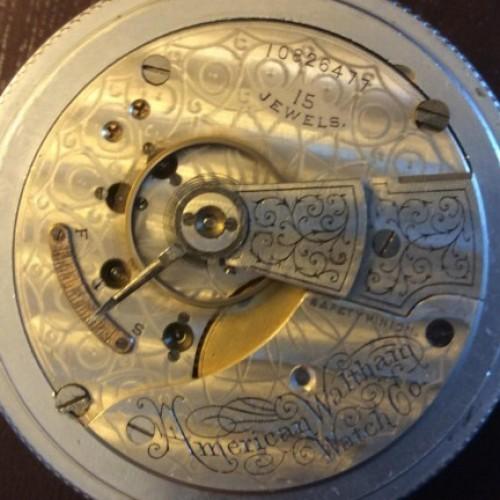 Waltham Grade No. 84 Pocket Watch Image