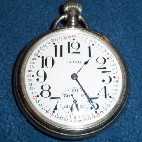 Elgin Grade 466 Pocket Watch Image
