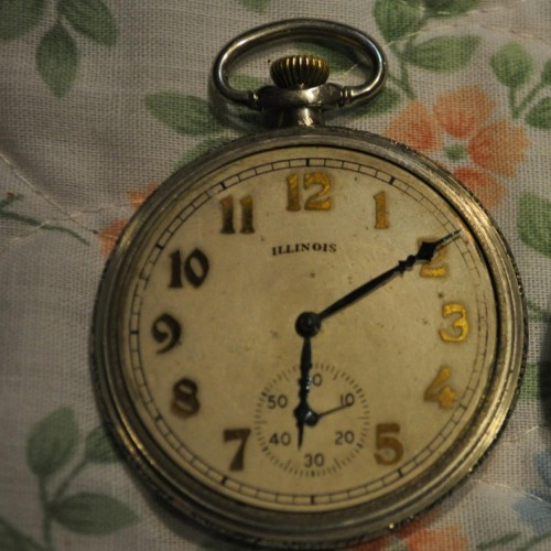 Illinois Grade 121 Pocket Watch Image