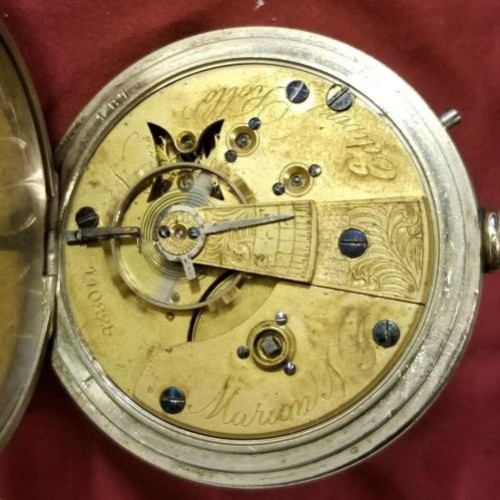 U.S. Watch Co. (Marion, NJ) Grade Edwin Rollo Pocket Watch Image