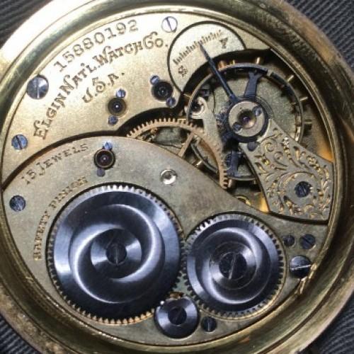 Elgin Grade 364 Pocket Watch Image