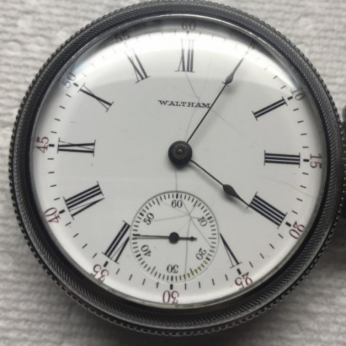 Waltham Grade No. 81 Pocket Watch Image
