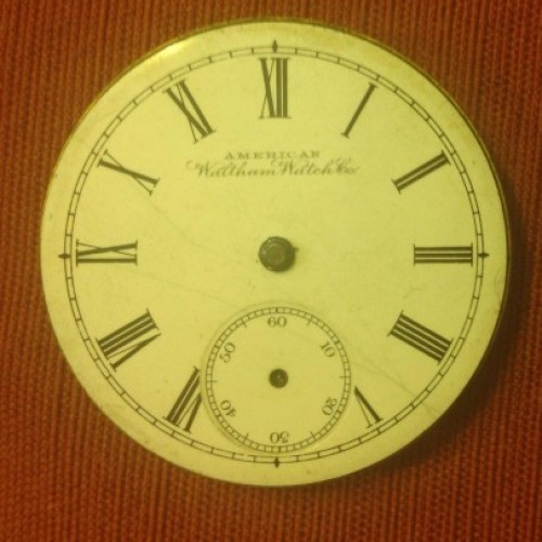 Waltham Grade No. 20 Pocket Watch Image