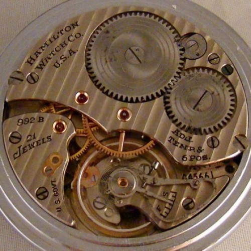 Image of Hamilton 992B #C45661 Movement
