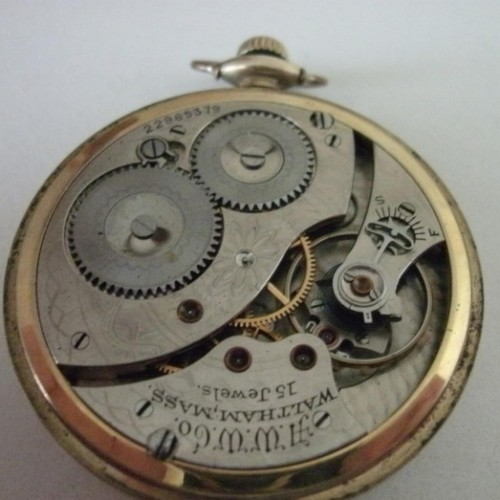 Waltham Grade No. 210 Pocket Watch Image