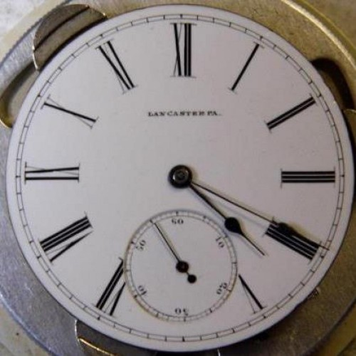 Image of Lancaster Watch Co. New Era #62431 Dial
