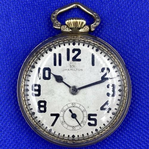 Hamilton Grade 4992B Pocket Watch Image