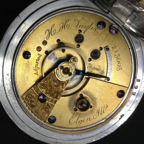 Elgin Grade 58 Pocket Watch Image