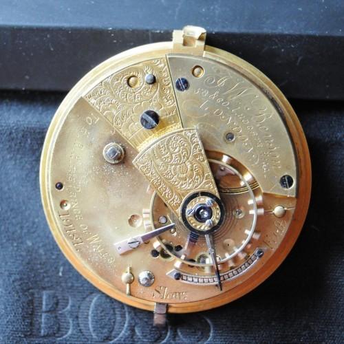 Swiss Imports Grade J.W.Benson/ Fusee. Pocket Watch Image
