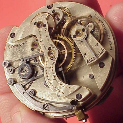 Waltham Grade Riverside Pocket Watch Image