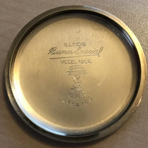 Illinois Grade 163 Bunn Special Pocket Watch Image