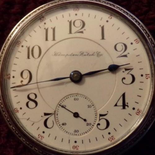 Hampden Grade No. 64 Pocket Watch Image
