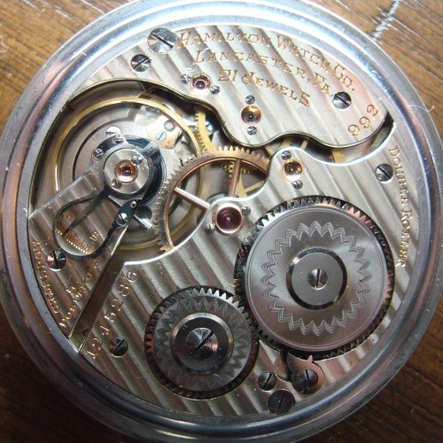 Hamilton Grade 992 Pocket Watch Image