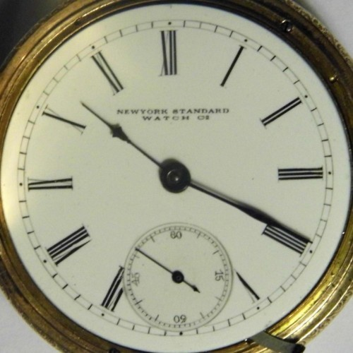 Image of New York Standard Watch Co.  #101573 Dial