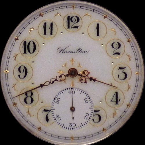 Hamilton Grade 974 Pocket Watch Image