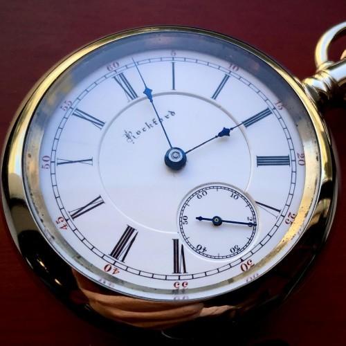 Rockford Grade 84 Pocket Watch Image