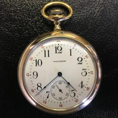 Waltham Grade Bond St. Pocket Watch Image
