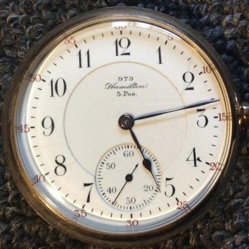 Hamilton Grade 973 Pocket Watch Image