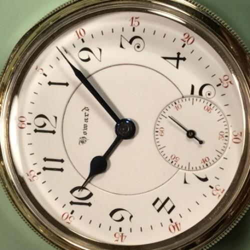E. Howard & Co. Grade  Pocket Watch Image