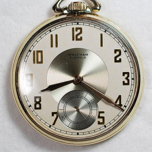 Waltham Grade No. 221 Pocket Watch Image