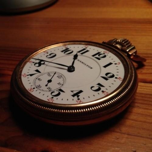 Hamilton Grade 950 Pocket Watch Image