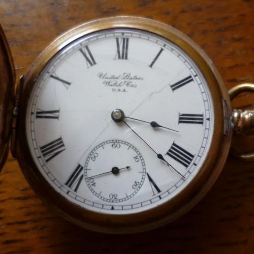 Image of U.S. Watch Co. (Waltham, Mass)  #811114 Dial