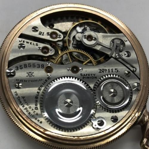 Hampden Grade No. 115 Pocket Watch Image