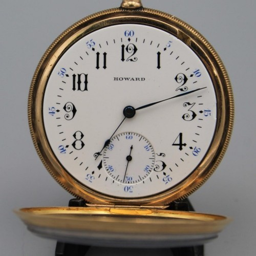E. Howard Watch Co. (Keystone) Grade Series 9 Pocket Watch Image