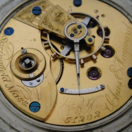 New York Watch Co. Grade  Pocket Watch Image