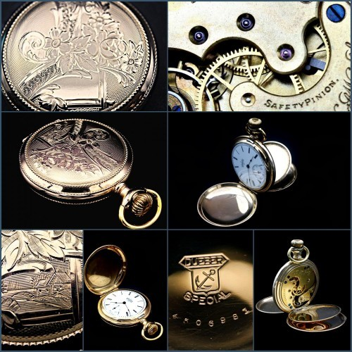Elgin Grade 118 Pocket Watch Image