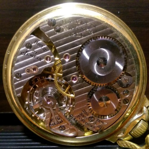 Image of Hamilton 992B #C144203 Movement