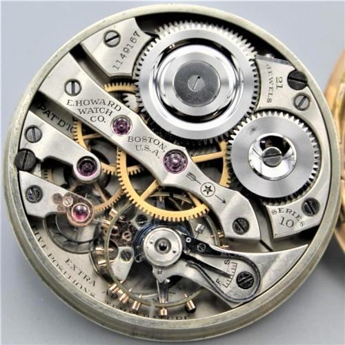 E. Howard Watch Co. (Keystone) Grade Series 10 Pocket Watch Image